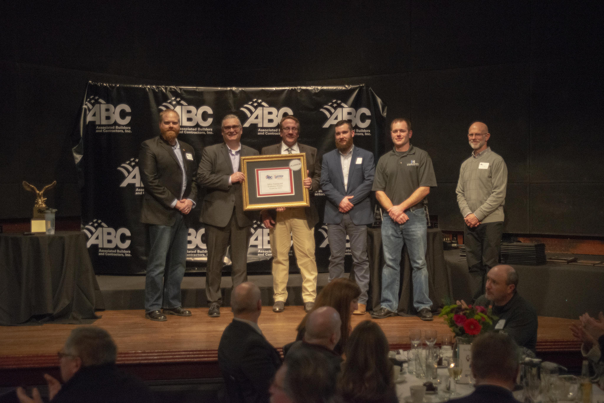 Knobelsdorff Electric, inc. receives 1st place award for excellence in construction project